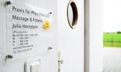 Praxis-Hornstein-Eingang